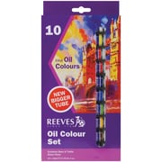 Reeves Oil Paint, 22ml, 10/Pkg, Assorted Colors