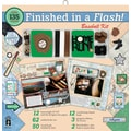 Hot Off The Press Finished In A Flash Page Kit, 12in. x 12in., Baseball