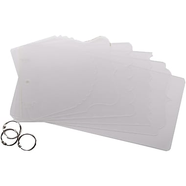 Clear Scraps All Mixed Up Acrylic Album, 11in. x 5in.