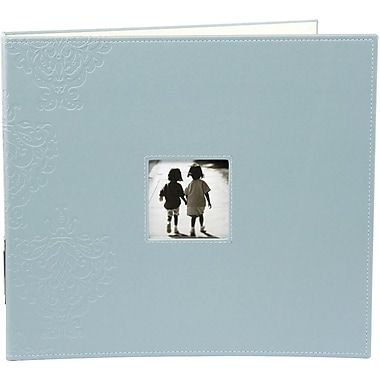Making Memories Embossed Leather 3-Ring Album W/Window, 12in. x 12in., Poolside