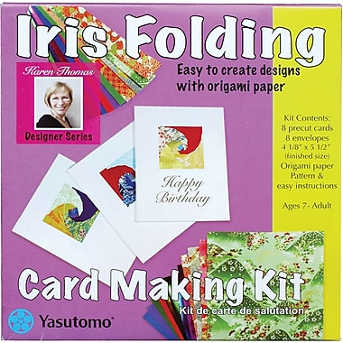 Yasutomo Iris Folding Card Making Kit