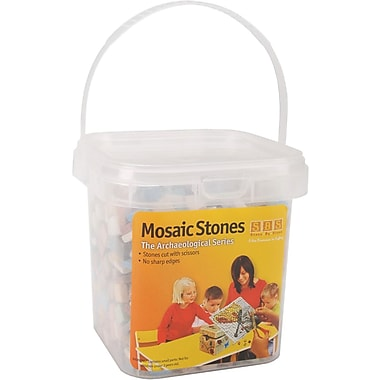 Aquastone Group Mosaic Stones, Assorted Colors