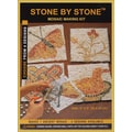 Aquastone Group Stone By Stone 4-In-1 Mosaic Kit, Light Color Series