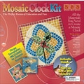 Aquastone Group Mosaic Clock Kit, 8in. x 8in.