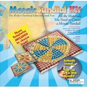"Aquastone Group Mosaic Sundial Kit, 8"" x 8"""
