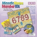 Aquastone Group Mosaic House Number Kit, 8in. x 8in.