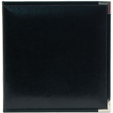 We R Memory Keepers Classic Leather Ring Binder, 5.5in. x 8.5in., Black