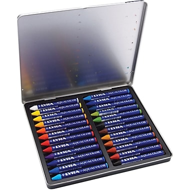 Prang Lyra Aquacolor Watersoluble Crayons