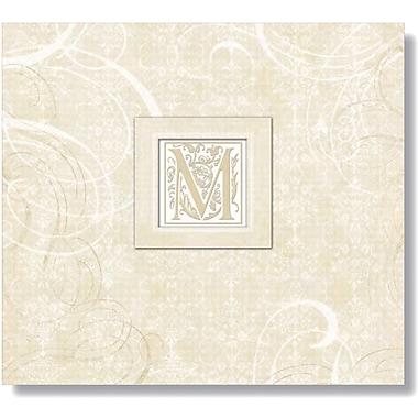 K&Company Lilo Postbound Album,  12in. x 12in., Wedding Elegant Scrolls