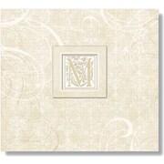 K&Company Lilo Postbound Album,  12 x 12, Wedding Elegant Scrolls