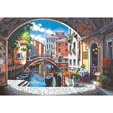 Dimensions Paint By Number Kit, 20in. x 14in., Archway To Venice