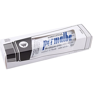 Martin/ F. Weber Original Permalba Oil Paint, 5 Ounces/Tube, White