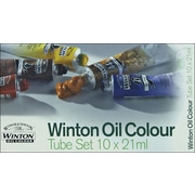 Reeves Winton Oil Paint, 21ml/Tube, 10/Pkg, Assorted Colors