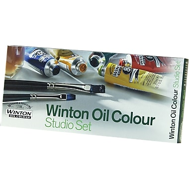 Reeves Winton Oil Paint Studio Set