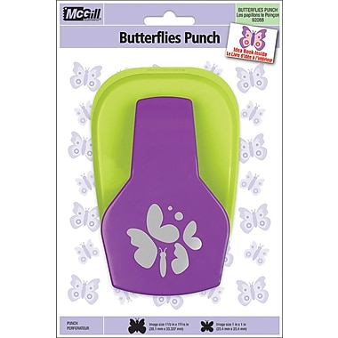 Mc Gill Dimensional Lever Punch, Butterflies