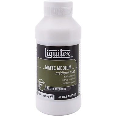 Reeves Liquitex Acrylic Matte Medium, 8 Ounces