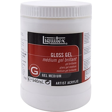 Reeves Liquitex Gloss Gel Acrylic Medium, 32 Ounces