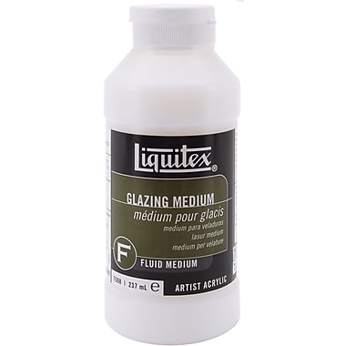 Reeves Liquitex Glazing Fluid Acrylic Medium, 8 Ounces