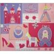 Amanda Blu Amanda Blue Embellished Fabric Album, 12in. x 12in., Princess Carriage