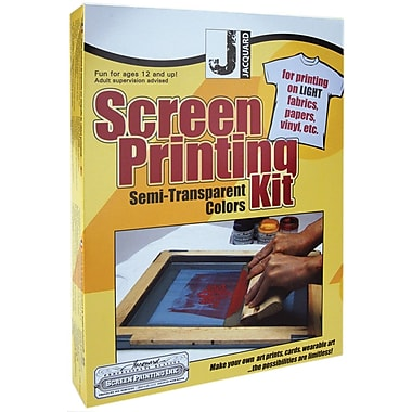 Jacquard Products Screen Printing Kits