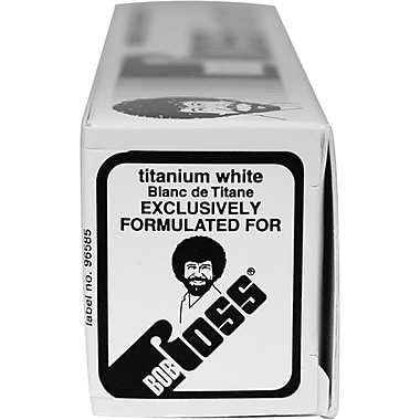 Martin/ F. Weber Bob Ross Oil Paint, 150ml/Pkg, Titanium White