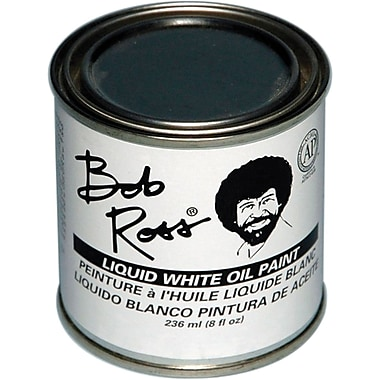 Martin/ F. Weber Bob Ross 236 ml Oil Paint, Liquid White (R62-07)