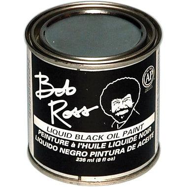 Martin/ F. Weber Bob Ross 236 ml Oil Paint, Black (R62-27)