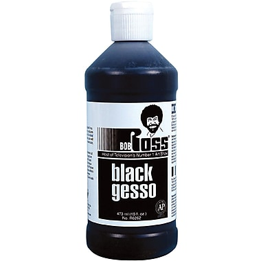 Martin/ F. Weber Bob Ross Gesso, 473ml, Black
