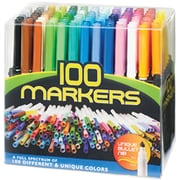 Pro-Art Bullet Point Marker, Assorted, 100/Pack