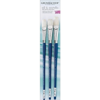 Chartpak Grumbacher Oil & Acrylic Brush Sets