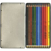 Chartpak Mondeluz Aquarell Watercolor Pencils, 12/Pkg