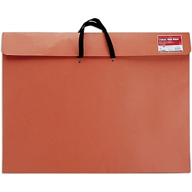 Star Products Red Rope Paper Portfolio, 23in. x 31in. x 2in.