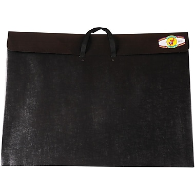 Star Products Dura-Tote Classic Black Poly Portfolio, 23in. x 31in. x 2in.