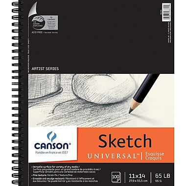 Pro-Art Canson Universal Sketch Book, 11in. x 14in.