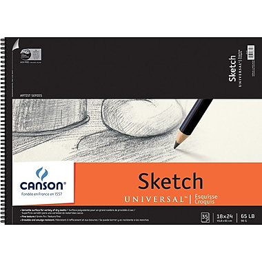Canson Universal Sketch Book, 18in. x 24in.