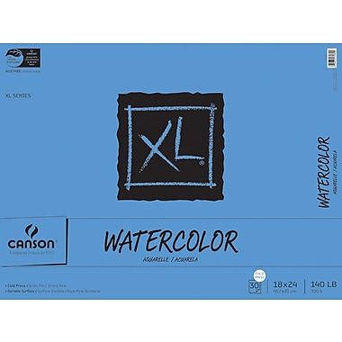 Canson XL Watercolor Paper Pad, 18
