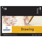 "Canson Classic Cream Drawing Paper Pad, 18"" x 24"""