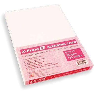 Copic Marker X-Press Blending Card 8.5in. x 11in. 125 Sheets-White