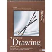 "Strathmore Drawing Medium Paper Pad, 18"" x 24"""