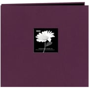 "Pioneer Fabric Frame Scrapbook, 12"" x 12"", Wildberry Purple"