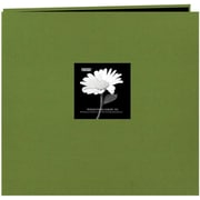"Pioneer Fabric Frame Scrapbook, 12"" x 12"", Herbal Green"