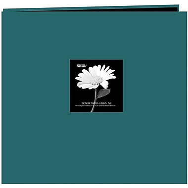 Pioneer Fabric Frame Scrapbook, 12in. x 12in., Majestic Teal
