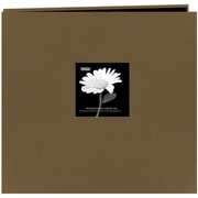 "Pioneer Fabric Frame Scrapbook, 12"" x 12"", Warm Mocha"
