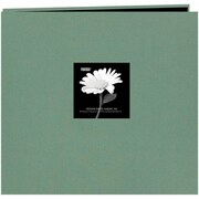 "Pioneer Fabric Frame Scrapbook, 12"" x 12"", Aqua"