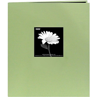Pioneer Fabric Frame Scrapbook, 8.5in. x 11in., Sage Green