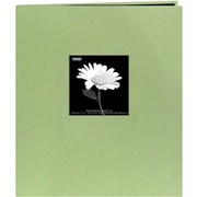 "Pioneer Fabric Frame Scrapbook, 8.5"" x 11"", Sage Green"