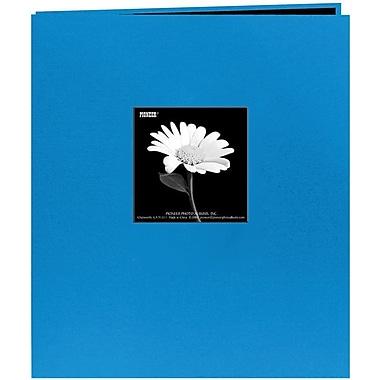 Pioneer Fabric Frame Scrapbook, 8.5in. x 11in., Sky Blue