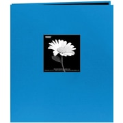 "Pioneer Fabric Frame Scrapbook, 8.5"" x 11"", Sky Blue"