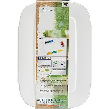 Martin Universal Airtight Peel-Off Palette, 3.5in.X9.125in.
