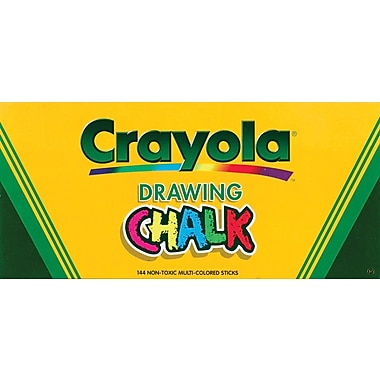 Crayola Drawing Chalk, 144/Pkg